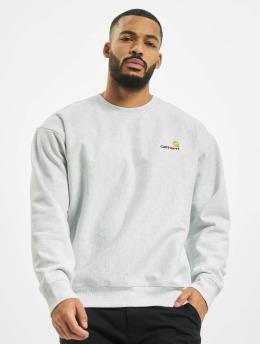 Carhartt WIP Пуловер American Script серый