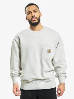 Carhartt WIP Пуловер Pocket  серый