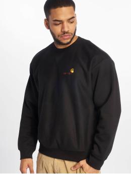 Carhartt WIP Пуловер American Script черный