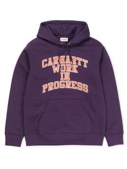 Carhartt WIP Bluzy z kapturem Wip Division fioletowy
