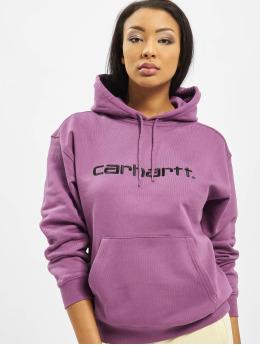Carhartt WIP Bluzy z kapturem Carhartt fioletowy