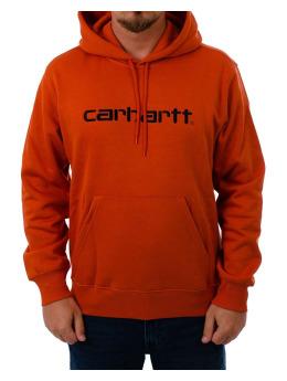 Carhartt WIP Bluzy z kapturem Carhartt pomaranczowy