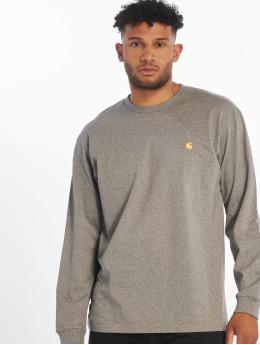 Carhartt WIP Camiseta de manga larga Chase gris