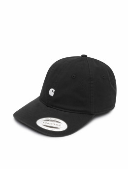 Carhartt WIP Fitted Cap Madison Logo schwarz