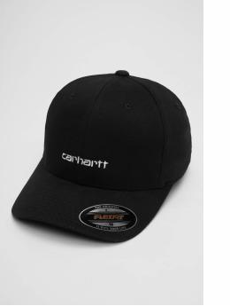 Carhartt WIP Flexfitted Cap Script schwarz