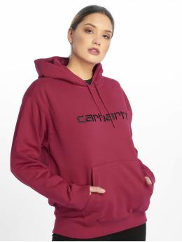 Carhartt WIP Hoodie Classico  pink