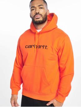 Carhartt WIP Hoody Label orange