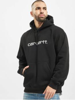 Carhartt WIP Hoody Label schwarz
