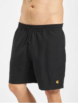 Carhartt WIP Kúpacie šortky Chase èierna