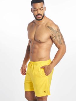 Carhartt WIP Kúpacie šortky Chase  žltá