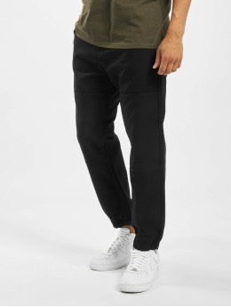 Carhartt WIP Látkové kalhoty Marshall  čern