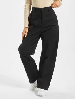 Carhartt WIP Látkové kalhoty Cardony  čern