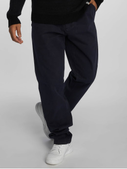 Carhartt WIP Látkové kalhoty Johnson modrý