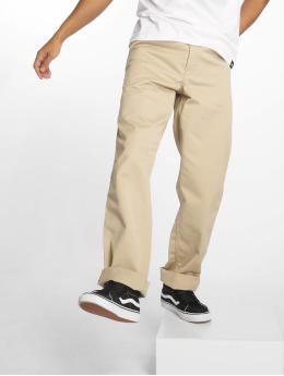 Carhartt WIP Loose Fit Jeans Simple béžový