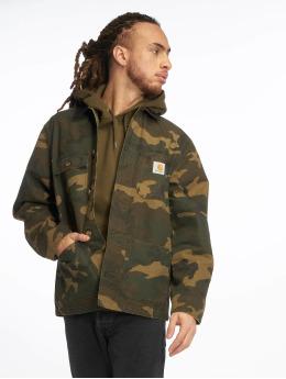 Carhartt WIP Övergångsjackor Michigan Coat kamouflage