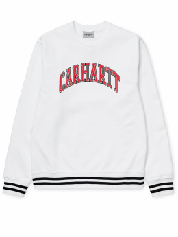 Carhartt WIP Pullover Knowledge weiß