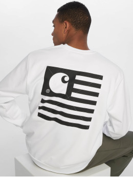 Carhartt WIP Pullover State Patch white