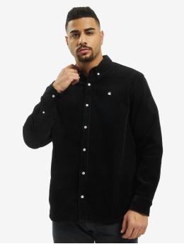 Carhartt WIP Shirt Madison Cord black