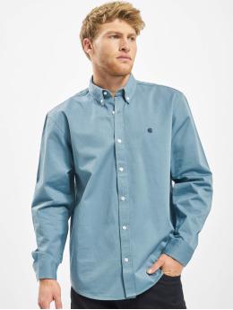 Carhartt WIP Skjorter Madison blå