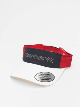 Carhartt WIP Snapback Caps Terrace valkoinen