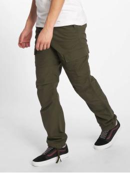 Carhartt WIP Spodnie Chino/Cargo Aviation oliwkowy