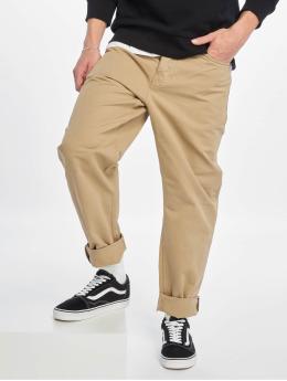 Carhartt WIP Spodnie wizytowe Newel brazowy
