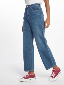 Carhartt WIP Straight Fit Jeans Jay Newport Relaxed blå