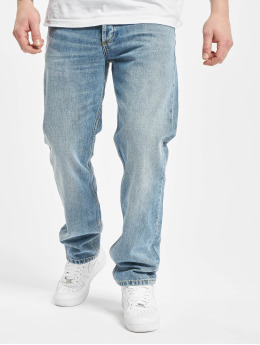 Carhartt WIP Straight Fit Jeans Marlow  blå