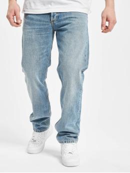 Carhartt WIP Straight Fit Jeans Marlow  modrý