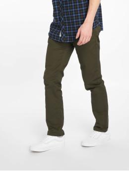 Carhartt WIP Straight Fit Jeans Klondike oliven