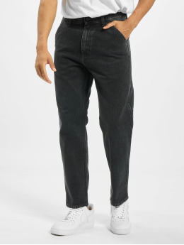 Carhartt WIP Straight Fit Jeans Penrod schwarz