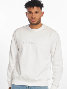 Carhartt WIP Swetry Label bialy