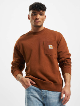 Carhartt WIP Swetry Pocket  brazowy