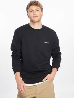 Carhartt WIP Swetry Script Embroidery czarny