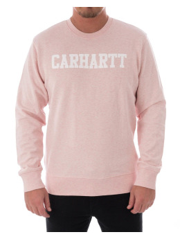 Carhartt WIP Swetry College pink
