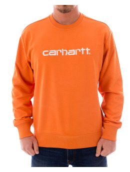 Carhartt WIP Swetry Sweat pomaranczowy