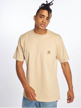 Carhartt WIP T-paidat Pocket  beige