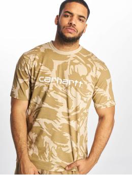 Carhartt WIP T-paidat Script camouflage