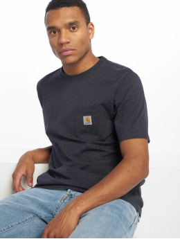 Carhartt WIP T-paidat Pocket sininen
