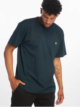 Carhartt WIP T-paidat Chase sininen