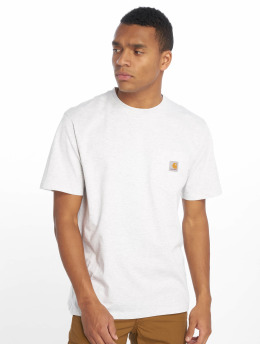 Carhartt WIP T-Shirt Pocket grau
