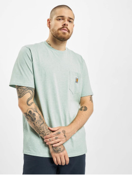 Carhartt WIP Männer T-Shirt Pocket in grün