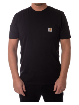Carhartt WIP T-shirt Pocket nero