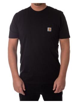Carhartt WIP T-shirt Pocket nero