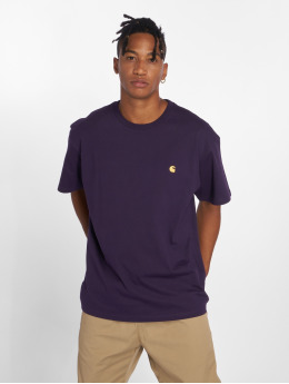 Carhartt WIP T-Shirt Chase purple