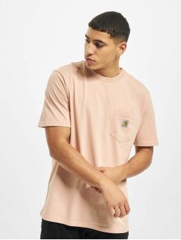 Carhartt WIP T-shirt Pocket  rosa chiaro