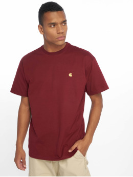 Carhartt WIP T-shirt Chase rosso