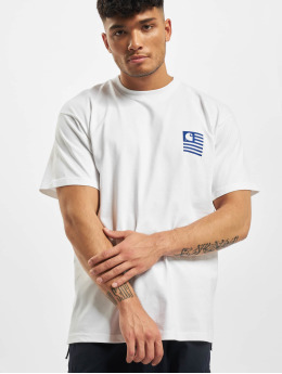 Carhartt WIP T-Shirt Waving State Flag white