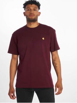 Carhartt WIP T-Shirty WIP  czerwony