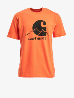 Carhartt WIP T-Shirty Outdoor C  pomaranczowy
